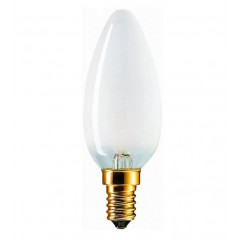 EUROLAMP Лампа галогенна Candle 42W 220V E14 frosted